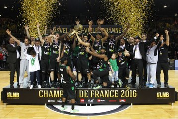 Basket - Pro A - L'ASVEL, Champion de France !