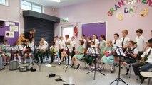 St Patrick's P.S. Year 4 singers and Ukulele Club Wagonwheel 13.06.16