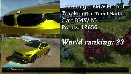 Driveclub Chapter 28 / BMW M4 Drift / World rank #23 / Score 12656