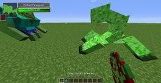 MUTANT ZOMBIE VS MUTANT CREEPER - Minecraft Mob Battle