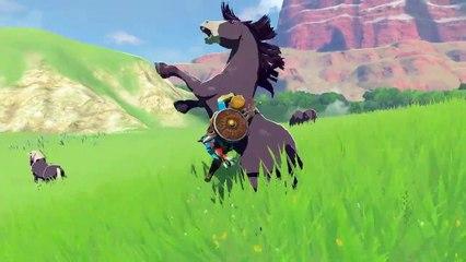 Trailer E3 2016 de The Legend of Zelda : Breath of the Wild