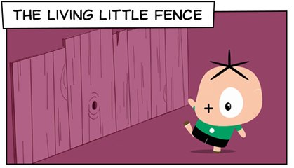 The Living Little Fence (T03E16) | Mônica Toy