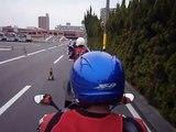 【車載動画】4/29 グッドライダーミーティング大阪 連続スラローム(直列パイロン)