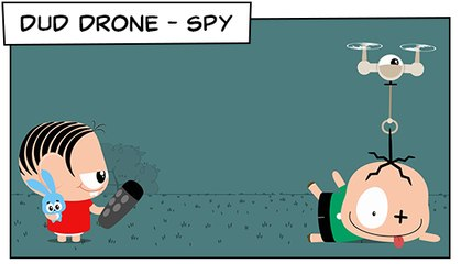 Dud Drone -Spy (T03E22) | Mônica  Toy
