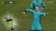 FIFA16 Barcelona Fc Andres Iniesta Gol de Chilena