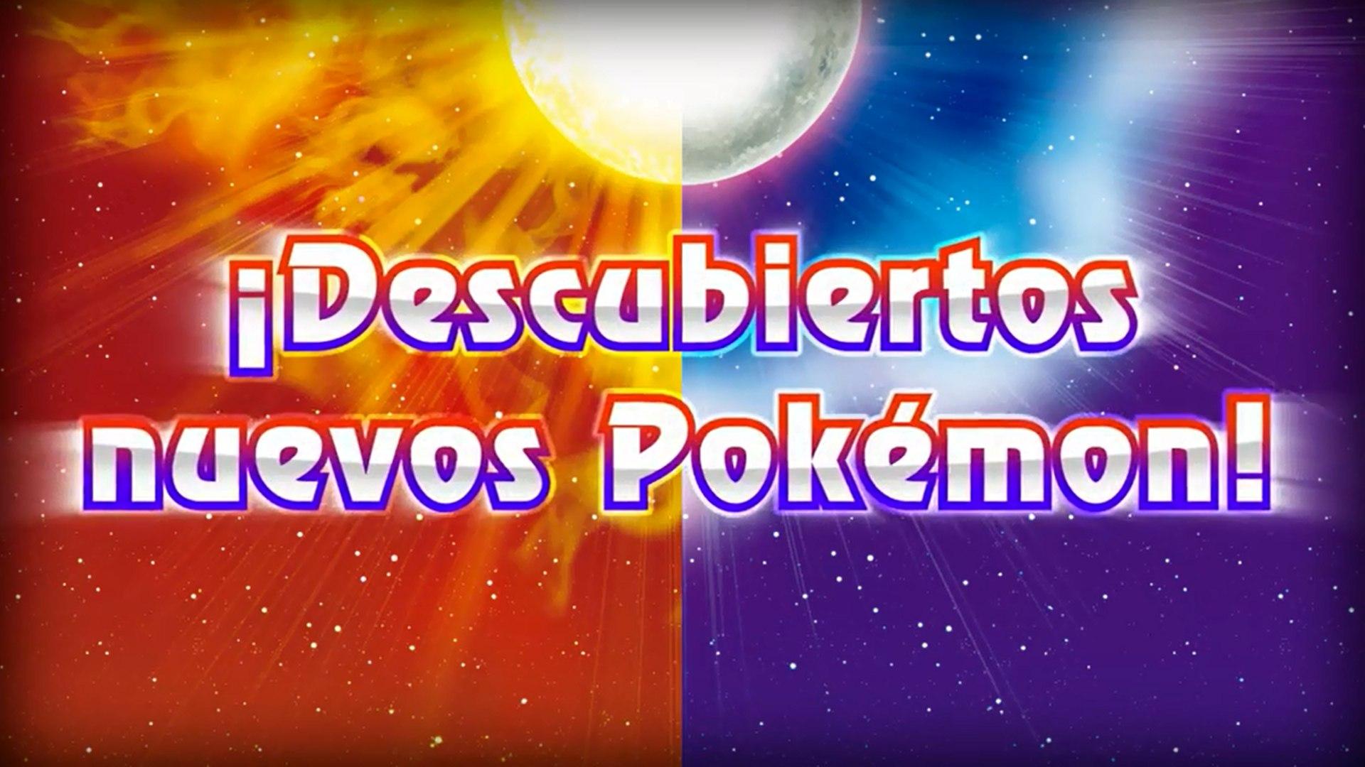 Pokémon Sol y Pokémon Luna - Tráiler E3 2016