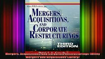 READ book  Mergers Acquisitions and Corporate Restructurings Wiley Mergers and Acquisitions Library Full Free