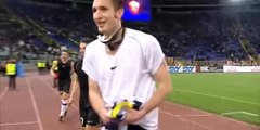 Roma - Juventus 1-4 Intervista a Iaquinta