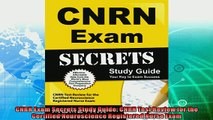 favorite   CNRN Exam Secrets Study Guide CNRN Test Review for the Certified Neuroscience Registered