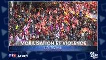 Manifestation contre la loi Travail : 75 000 manifestants pour la police, contre 1 million pour les syndicats !
