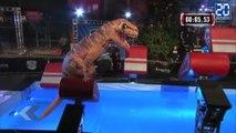Un T-Rex à American Ninja Warrior ! - Le rewind du mercredi 15 juin 2016.