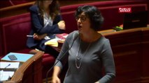 Loi Travail: Myriam El Khomri s'emporte devant les sénateurs