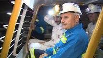 Başbakan Binali Yıldırım Madende, Madencilerle İftar Yaptı
