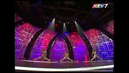 SYTYCD3 | Gala Meet Top 20 | Xuân Thảo - Kim Anh - Phạm Lịch | Jazz
