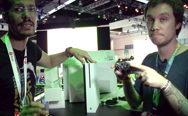 E3 2016 Unboxing Xbox One S