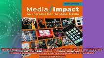 FREE PDF  Media Impact An Introduction to Mass Media Wadsworth Series in Mass Communication and  FREE BOOOK ONLINE