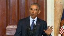 Obama Rebuffs Trump on 'Radical Islam'