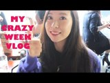 MY CRAZY WEEK VLOG: exams, fashion meetings and filming.