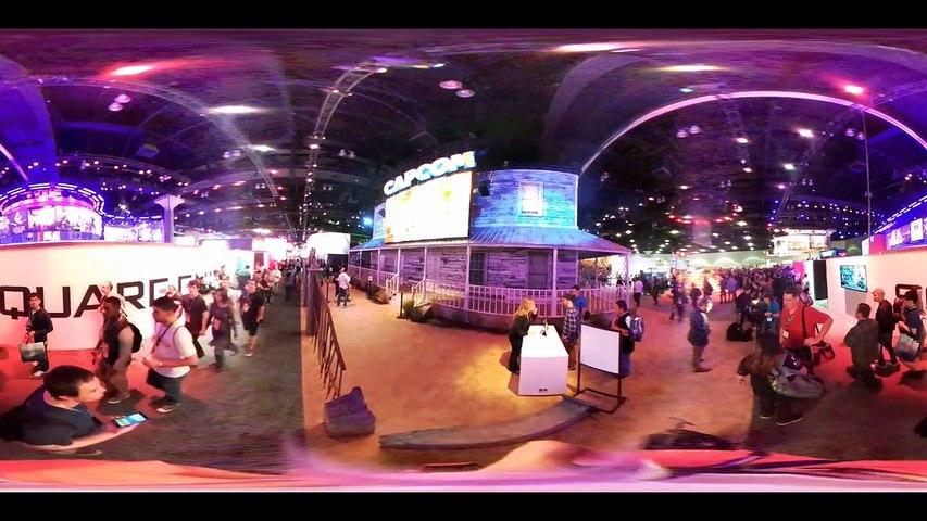 E3 2016 Stand de Capcom en 360