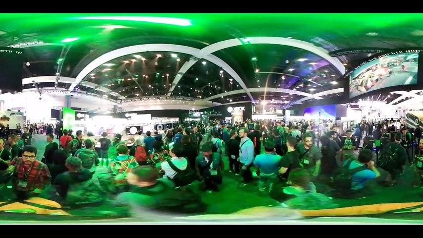 E3 2016 Stand de Microsoft en 360