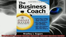 EBOOK ONLINE  The Business Coach Instant Success Instant Success Series  BOOK ONLINE