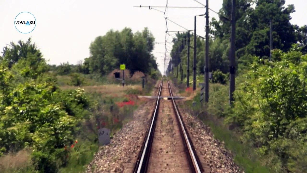 UNIKÁTNY VLAKOVÝ VIDEOPROJEKT: Opačným smerom: Zo Skalice do Kútov