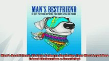 FREE PDF  Mans Best Friend 30 Cute Patterns Depicting Your Most Loyal Dog Friend Relaxation   FREE BOOOK ONLINE