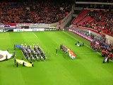 Dutch National Anthem at Amsterdam ArenA, Holland vs. Sweden, Nov 19 2008