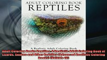 EBOOK ONLINE  Adult Coloring Books Reptiles A Realistic Adult Coloring Book of Lizards Snakes and Other  DOWNLOAD ONLINE