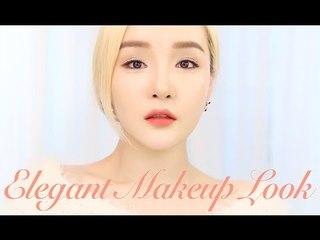 Eng/中国语字幕] TUTORIAL: Elegant Makeup Look ㅣ 예뻐지는 메이크업 ㅣ  LAMUQE