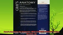 best book  Grays Anatomy for Students With STUDENT CONSULT Online Access 3e