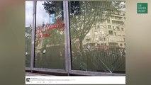 L'hôpital Necker-Enfants malades vandalisé lors de la manifestation du 14 juin