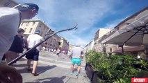 Les affrontements entre anglais et russes filmés avec une GoPro