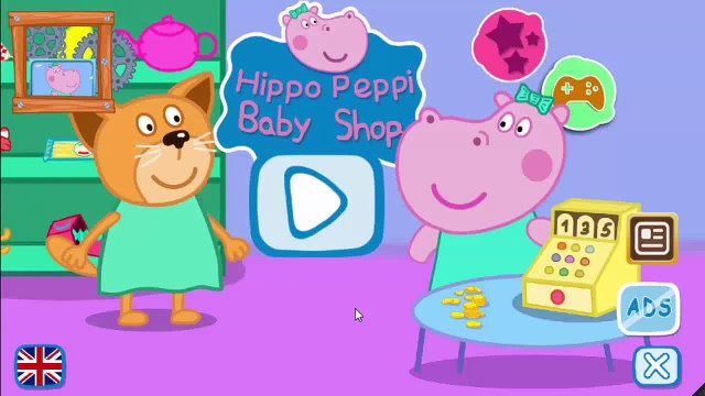 Peppa Pig English | Peppa Pig Game shop sells | Supermarket Children | ChuChu GamesTV