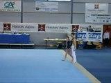gym acro CISAG GAP 23-03-2008 Coline+Loïc