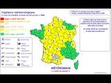 Alerte météo - Orages - 19 mai 2012 - France