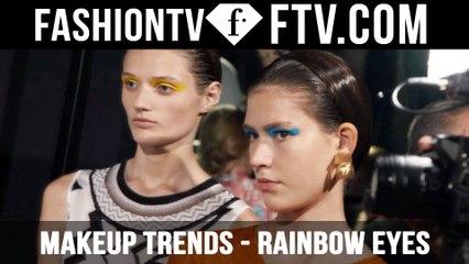 Makeup Trends Spring/Summer 2016 Rainbow Eyes   FTV.com