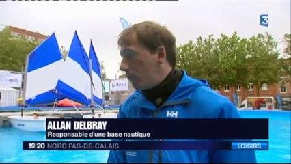 "Dunkerque, la ""plage Jean Bart"""