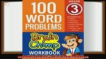 read here  100 Word Problems  Grade 3 Math Workbook