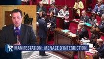 """Jean-Frédéric Poisson: """"La loi autorise l'interdiction de manifestation"""""""