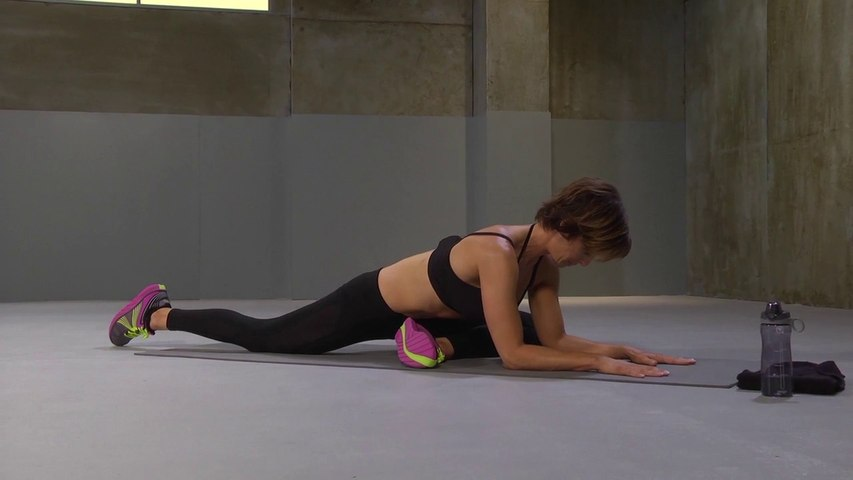 Core HIIT Workout with Ashley Borden   Fitness   Gaiam