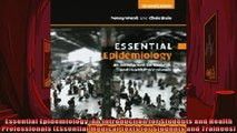 Free PDF Downlaod  Essential Epidemiology An Introduction for Students and Health Professionals Essential  BOOK ONLINE