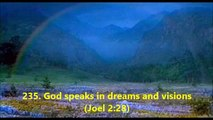 235. God speaks in dreams and visions (Joel 2:28)