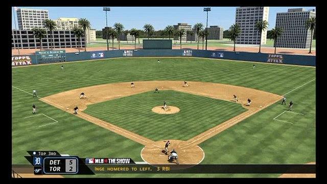 MLB '10: The Show 3/29/10 - Detroit @ Toronto Highlights