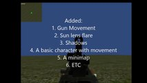 Unity 3d Multiplayer FPS game Update part: 1