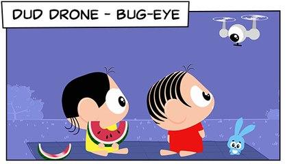 Dud Drone - Bug- Eye (T03E10) | Mônica Toy