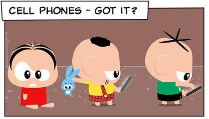 Cell Phones- got it ? (T03E07) | Mônica Toy