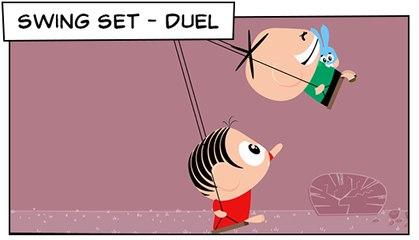 Swing Set -Duel (T03E11) | Mônica Toy