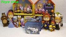 Video Thomas and Friends, Harold Meets New Friends Peppa Pig, Маша и Медведь, Dora the Explorer
