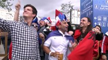 Euro 2016 : ambiance près du Vélodrome entre Français et Albanais